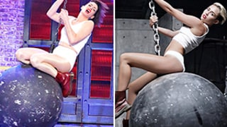 Anne Hathaway Goes Full Miley for