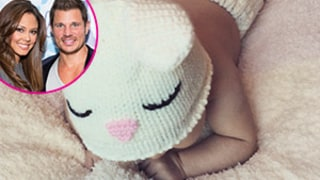 Vanessa Lachey Shares First Photo of Baby Girl Brooklyn — See the Insanely Cute Easter Snap!