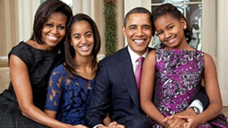 Michelle Obama Jokes Her Daughters