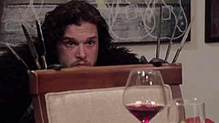 Jon Snow Is the Worst Dinner Guest Ever — Watch the Funny Video