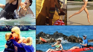 Celebrity Vacation Photos