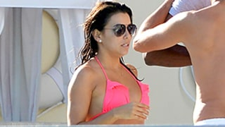Eva Longoria Shows Off Her Toned Physique While Lounging Poolside With Serena Williams — See Their Bikini Bods