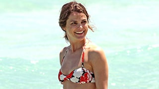 Keri Russell Looks Hotter Than Ever in a Floral Two-Piece: See Her Smoking Bikini Body