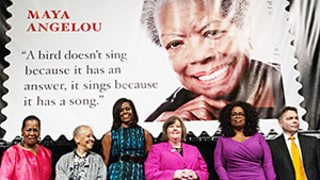 Maya Angelou's Forever Stamp Features Misattributed Quote - and Oprah Bought a Ton!