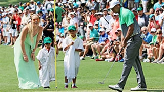 Tiger Woods' Kids Make the Cutest Golf Caddies: See New Pics of the Family With Lindsey Vonn!