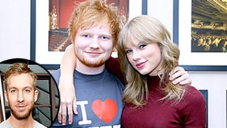 Ed Sheeran Approves of Taylor Swift's New Boyfriend Calvin Harris: