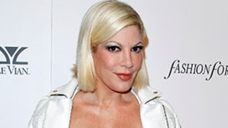 Tori Spelling Hospitalized With Burns After Falling Onto Hibachi Grill at Benihana