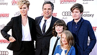Mark Ruffalo Jokes That His Kids Do Not Respect the Hulk: See His Family on the Red Carpet