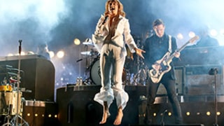 Florence Welch Breaks Foot in Florence and the Machine Coachella Show Stage Leap