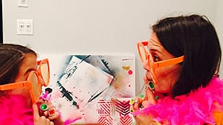 Katie Holmes, Suri Cruise Play Dress Up, Get Silly in Instagram Pics