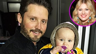 Kelly Clarkson Watches Stanley Cup Playoff Game With Husband Brandon, Daughter River: See the Cute Pics