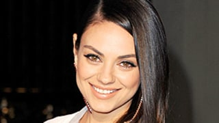 Mila Kunis Dresses Up Her Go-To Tee and Jeans: See Her Latest Post-Baby Red Carpet Outfit!