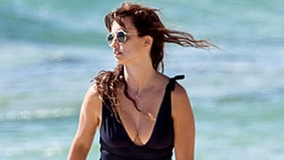 Penelope Cruz, 40, Proves That Black Swimsuits Are Anything But Basic: See Her Sexy Beach Styles!