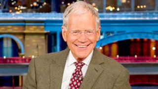 David Letterman Silences Late Show Audience With