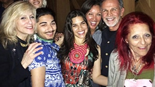 Ugly Betty Cast Reunites for America Ferrera's 31st Birthday: Adorable Photos!