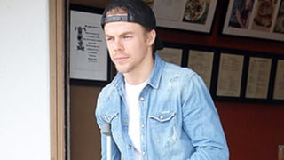 Derek Hough Injures Both Feet After