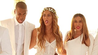 Beyonce, Solange's Bridesmaid Style at Mom Tina Knowles' Wedding: Plus, See Blue Ivy's Sweet Dress!