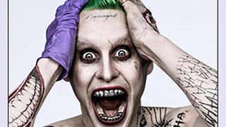 Jared Leto Goes Insane as The Joker in First Suicide Squad Shot: See the Terrifying Photo!