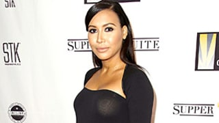 Naya Rivera Highlights Her Baby Bump in a $210 Fitted Black Dress: See Her Sultry Maternity Red Carpet Look