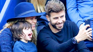 Shakira, Gerard Pique's Son Milan Masters Making Funny Faces: Cute Pics