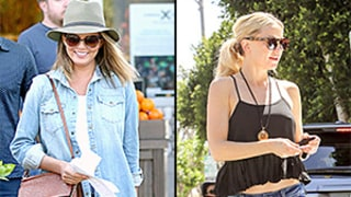 Chrissy Teigen, Kate Hudson, More Celeb Ladies Teach You How to Rock Short Shorts in Your 20s, 30s, and 40s!