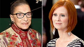Cynthia Nixon Says Ruth Bader Ginsburg Is a Miranda, Talks Sex and the City Costars: Who Keeps in Touch?