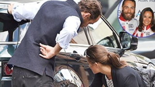 Pippa Middleton's Car Breaks Down and Brother James Comes to the Rescue! See the Photos