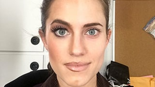 Allison Williams' Dramatic Girls Makeup: See the Before and After in One Selfie!