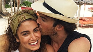 Nikki Reed, Ian Somerhalder Enjoy Sandy, Sunburned Honeymoon in Mexico: Pics