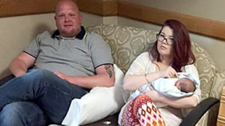 Amber Portwood Cradles Ex Gary Shirley's Newborn Daughter Emilee: Pics