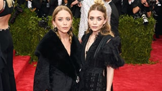 Mary-Kate and Ashley Olsen Coordinate in Dramatic Black Ensembles on Met Gala 2015 Red Carpet: Photos