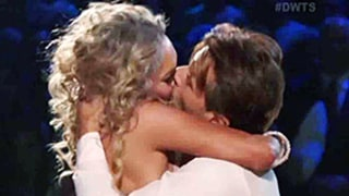 Robert Herjavec, Kym Johnson Explain That Shocking Kiss on Dancing With the Stars