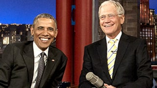Barack Obama, David Letterman Plan to Play Dominos When They Retire: Watch Now!