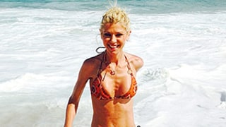 Tara Reid Flashes Her Extremely Slender Body in Printed Bikinis for Cinco de Mayo: Photos