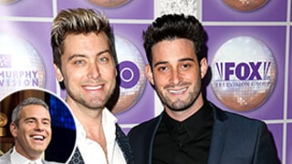 Lance Bass' Husband Michael Turchin Isn't Mad at Andy Cohen for Having Sex (A While Ago) With His Hubby
