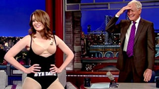 Tina Fey Strips to Her Spanx on Late Show With David Letterman: Watch!