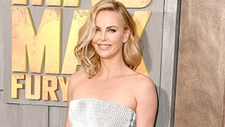 Charlize Theron Stuns in Strapless Black and White Dress on the Red Carpet With Sean Penn: See the Photos!