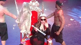 Mariah Carey Gets Sexy Lap Dance From Tyson Beckford at Chippendales Show: Video, Photos!
