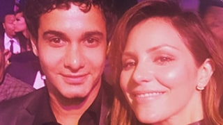 Katharine McPhee Wishes Boyfriend Elyes Gabel Happy Birthday, Wears