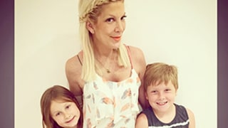 Tori Spelling Thanks Kids for
