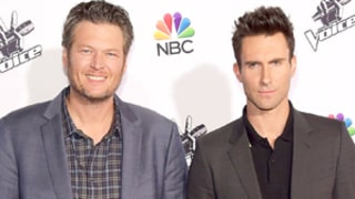 Blake Shelton Didn't Call Adam Levine After Sugar-Bomb Incident: