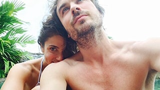 Ian Somerhalder Shares Shirtless Selfie, Thanks