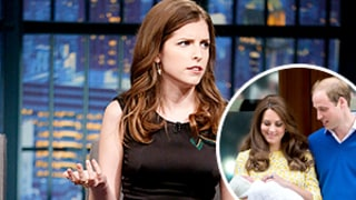 Anna Kendrick Not Impressed by Royal Baby Princess Charlotte: