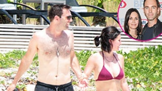 Courteney Cox Flaunts Toned Bikini Bod on Vacation With Fiance Johnny McDaid
