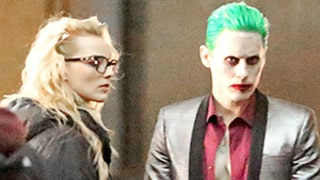 Jared Leto Is Totally Terrifying As The Joker in Suicide Squad — See the First On-Set Photos!
