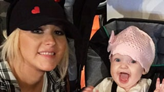 Christina Aguilera's Baby Girl Summer Rain Visits Disneyland for First Time: Too Cute Family Photos