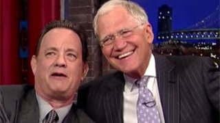 Tom Hanks Introduces David Letterman to the Selfie Stick, Watch the Funny Video