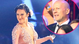 Rumer Willis' Dancing With the Stars Final Performances Brings Dad Bruce Willis to Tears: Pics, Videos
