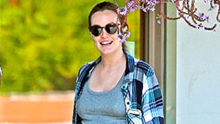 Leighton Meester Looks Over the Moon About Pregnancy With Adam Brody: Baby Bump Photo!