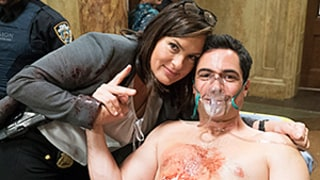 Law & Order: SVU Season 16 Finale Says Goodbye to Danny Pino's Amaro -- Go Behind the Scenes!